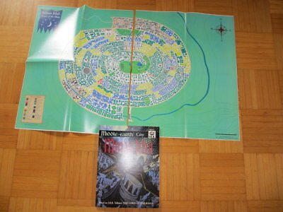 Middle Earth City Minas Ithil + 2 MAP I.C.E. #8302 MERS Merp Lord Rolemaster ice