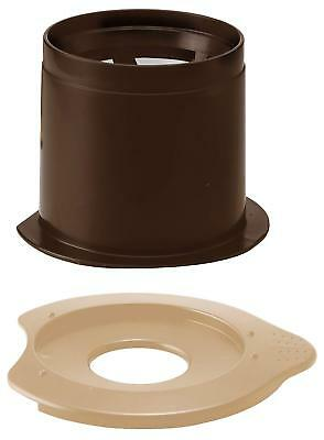 NEW HARIO cafe All dripper light for 1 person paperless Brown CFOL-1BR##Yu