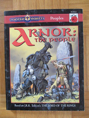 Middle Earth Peoples Arnor I.C.E. #2022 MERS Merp TSR Lord Rings Companion guide