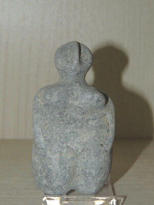 Antique Stone Idol Figure statuette,mother godess,fertility,god,alien