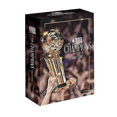 NBA - The Champions | Collection (DVD, 2018, 10-Disc Set) (Region 4) New Release