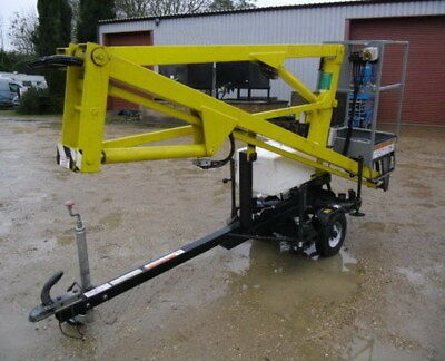 Trailer mounted, towable Nifty 90 Cherry Picker for Hire (Croydon, Surrey)