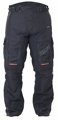 RST Adventure 3 III Textile Motorcycle Riding Jeans - Short Leg - 1852 - Black