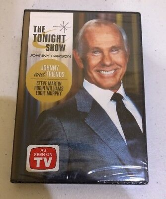 Tonight Show Starring Johnny Carson: Johnny & Friends 3 Dvd Set BRAND NEW