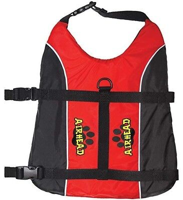 Airhead Bouyancy Aid Pet Safety Life Vest Dog Swimming Flotation Device 3 Sizes