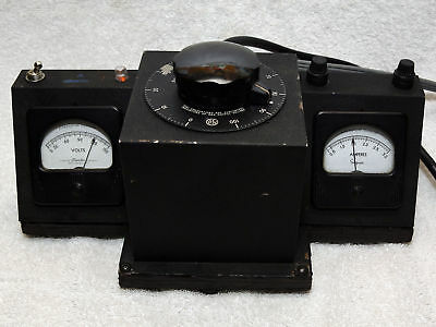 Metered Variable Transformer Variac for your tube amplifier or steampunk project