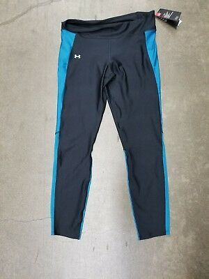 33a74d14fd Under Armour Fly-By Womens Running Leggings-Black & blue NWT-Size extra