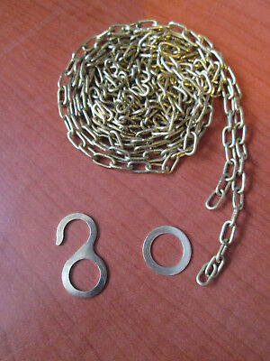 "New Old Stock Cuckoo Clock Weight Chain 60""  52 LPF.   (885N)"