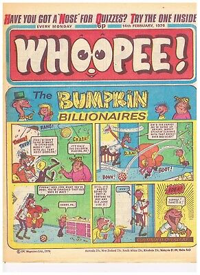 Buy Individ Whoope 1975/76 & Whoopie and Shiver & Shake 75 Comics VGC  see list