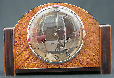 15041901005HAU Junghans Art Deco 1935 Mantel Clock Parts Repair