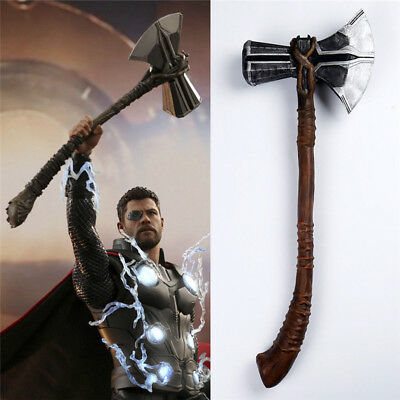 Movie Avengers 3 Infinity War Thor Cosplay Stormbreaker Props Axe Halloween 1:1