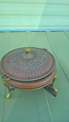 islamic brass/copper cooking pot with burner