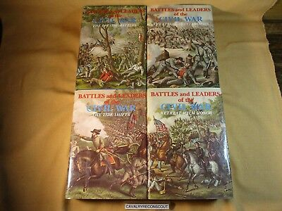 ' Battles and Leaders of the Civil War ' Volumes 1 through 4 Hardcover