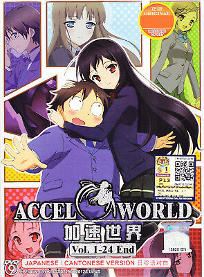 Accel World ~~The Complete Tv Series Eng Sub Dvd Box Set~~