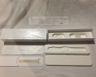 Apple Watch Series 3 38mm Antique White Sport Band MLCJ2LL/A **BOX ONLY**