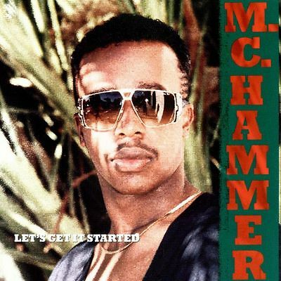 MC Hammer ‎ Let's Get It Started  Vinyl LP 1988 Near Mint cover excellent