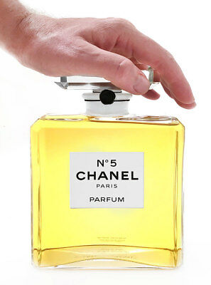 Chanel N° 5 Paris Parfum Large Factice / Dummy Perfect DISPLAY ONLY NOT PERFUME