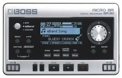 BOSS Digital Recorder MICRO BR BR-80 FREE SHIPPING