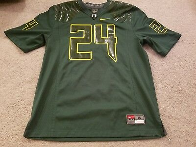 0a26465fc NEW OREGON DUCKS Nike  6 Football Game Jersey Womens Size XL Green ...