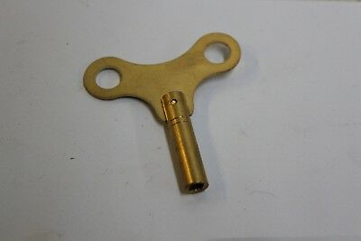 New Brass Replacement Clock Key Size 7 / 4.0 mm For Key Wind Clocks