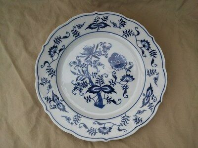 Blue Danube Blue Onion Pattern Dinner Plate with rectangle mark