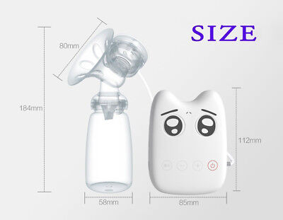 Intelligent USB Electric BPA Free Automatic Massage Breast Pump
