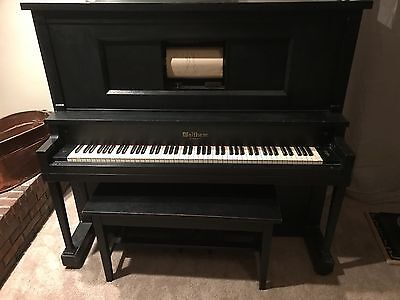 1923 Waltham Player Piano - Vintage / Antique Player Piano