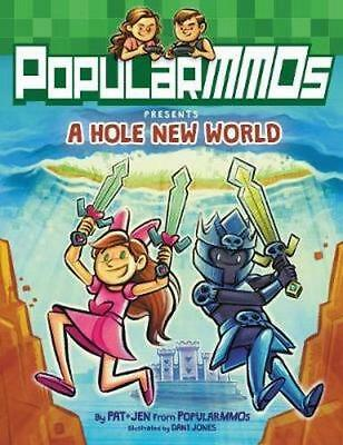 NEW PopularMMOs Presents A Hole New World By PopularMMOs Hardcover Free Shipping