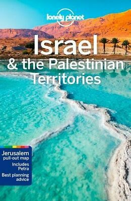 NEW Israel & the Palestinian Territories By Lonely Planet Travel Guide Paperback