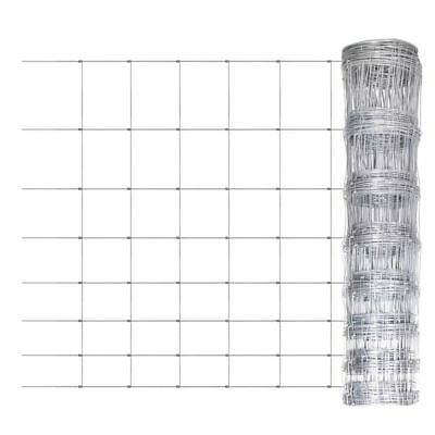 164 ft Galvanized Wire Mesh Fence Field Wild Zoo Terrace Garden Fencing Roll