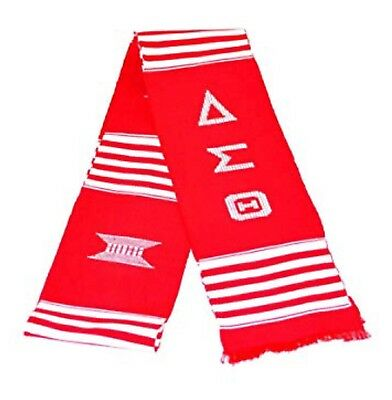 Authentic Woven Kente scarf Delta Sigma Theta Stole Made From Ghana