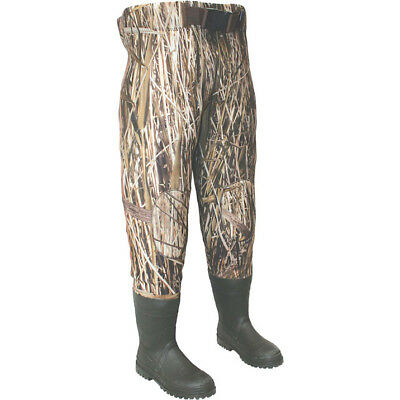 Mens Camouflage Waterproof Fishing Waders - Waist