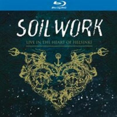 Soilwork-Live in the Heart of Helsinki  CD with Blu-ray NEW