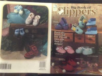 Slippers Knitting Book 101075 Boots Patterns Knit Designs Winter