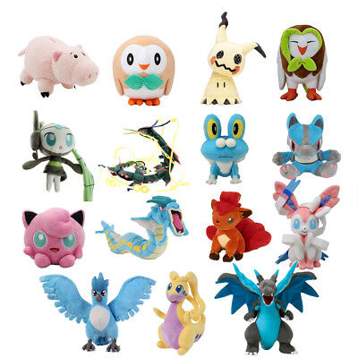 Pokemon Sun & Moon Alola Hammy Stuffed Plush Doll Figure Toys 7-34''