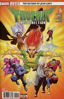 Phoenix Resurrection The Return of Jean Grey (Marvel) #5A 2018 Yu Variant NM