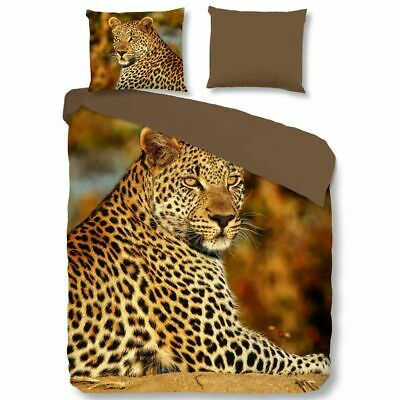 Good Morning Funda de Edredón 5704-P Leopardo Medidas 240x200/220cm Multicolor