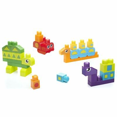 Mega Blocks Set para Aprendizaje Formas de 40 Piezas DXH34 Color: Multicolor