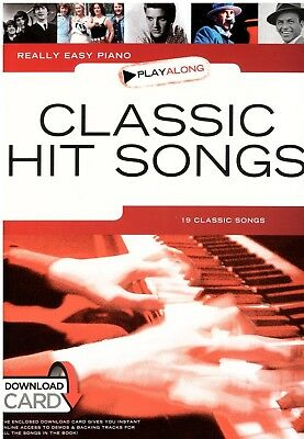 Klavier Noten : Classic Hit Songs - (Really Easy Piano)  leicht  - AM 1009932