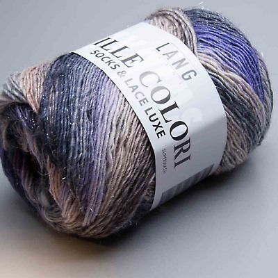 Lang Yarns Mille Colori Socks & Lace Luxe 45