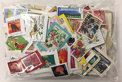 World Used Postage Stamp Mix on Paper NO GB - 200g - GENUINE CHARITY DIRECT