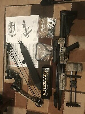 CenterPoint Sniper 370- Crossbow Package Camo AXCS185CK