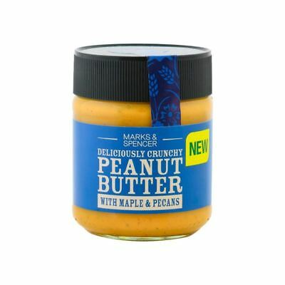 Marks & Spencer Peanut Butter With Maple & Pecans 227g (Pack of 6)