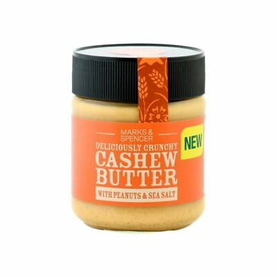 Marks & Spencer Cashew Butter With Peanuts & Sea Salt 227g (Pack of 6)
