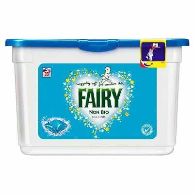 Fairy Non Biological Liquitabs - 20 Washes (20) - Pack of 6