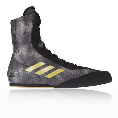 Adidas Box Hog Plus Black Boxing Boots