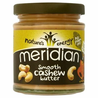 Meridian Smooth Cashew Butter 170g - Pack of 6