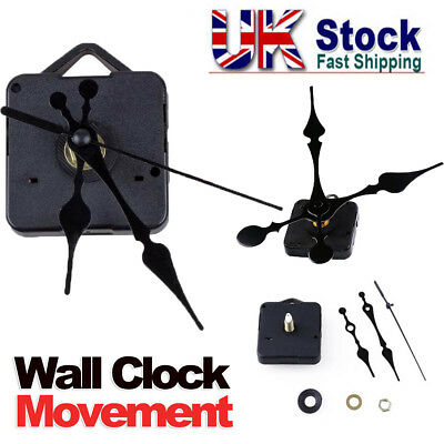 New Replacement Quartz Clock Movement Mechanism Motor & Fittings - DIY Repair Y5