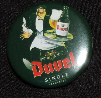 Pin Button Badge Ø38mm  Duvel (bière) 12