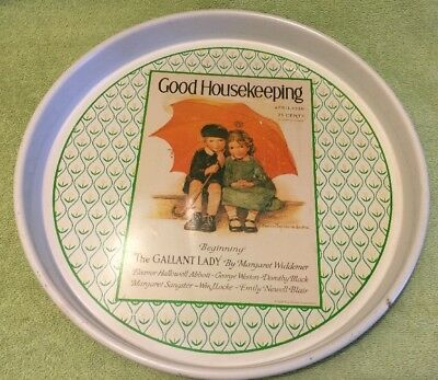 Cheinco 1970's Good Housekeeping Serving Tray - Reproduction Of The 1926 Cover